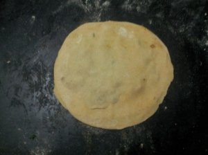 how to make onion paratha
