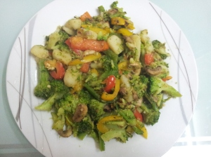 Mixed veg salad