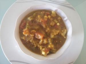 gobi capsicum masala