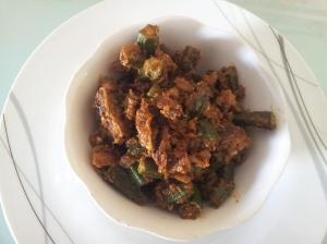 Bhendi fry masala